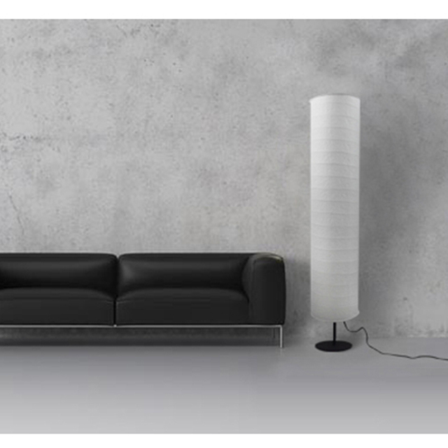 Nordic Modern Led Floor Lamp For Living Room Bedroom Design Luminaire Indoor Lighting Decoration Paper Lampshade Standing Lamp 3