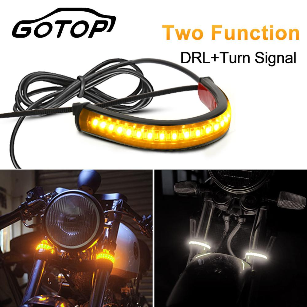 Universal 1Pcs Motorcycle Turn Signal Light Car Motorcycle Tail Brake Lights 36SMD 3014 LED Chips License Plate Light Flashing S