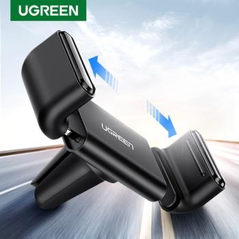 Soporte Ugreen para el coche para iPhone X XS 8, soporte para teléfono en coche 360, soporte giratorio para la rejilla de ventilación del coche, soporte para teléfono móvil