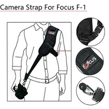 Focus F-1 Quick Rapid Single Shoulder Belt Camera Neck Carry Speed Anti-Slip Sling Strap for Canon Nikon DSLR 7D 5D Accessories focus f 1 quick rapid carry speed soft pro shoulder sling belt neck strap for camera slr dslr black free shipping