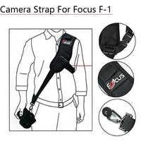 Focus F-1 rapide rapide simple ceinture d'épaule caméra cou vitesse de transport anti-dérapant sangle pour Canon Nikon DSLR 7D 5D accessoires