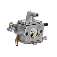 8 x 6.2 cm Sliver Metal Carburetor Kits Carburetor Carb for Stihl FS120 FS200 FS250 Trimmer Weedeater Brush Cutter carburetor ignition coil module kit fit stihl fs300 fs350 fs120 fs200 fs250 fs250 r fs020 fs202 ts200 trimmer weedeater cutters
