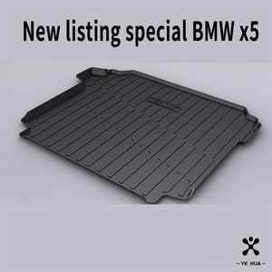 Image 2 - For BMW F15 G05 X5 2013 2014 2015 2016 2017 2018 2019 2020 Trunk mat Black Waterproof Durable Floor Mats Protection Cargo Liner
