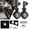 2pcs Motorcycle LED Fog Lights For BMW R1200GS R1250GS ADV For Yamaha MT07 MT09 For CRF1000L Africa Twin For Kawasaki