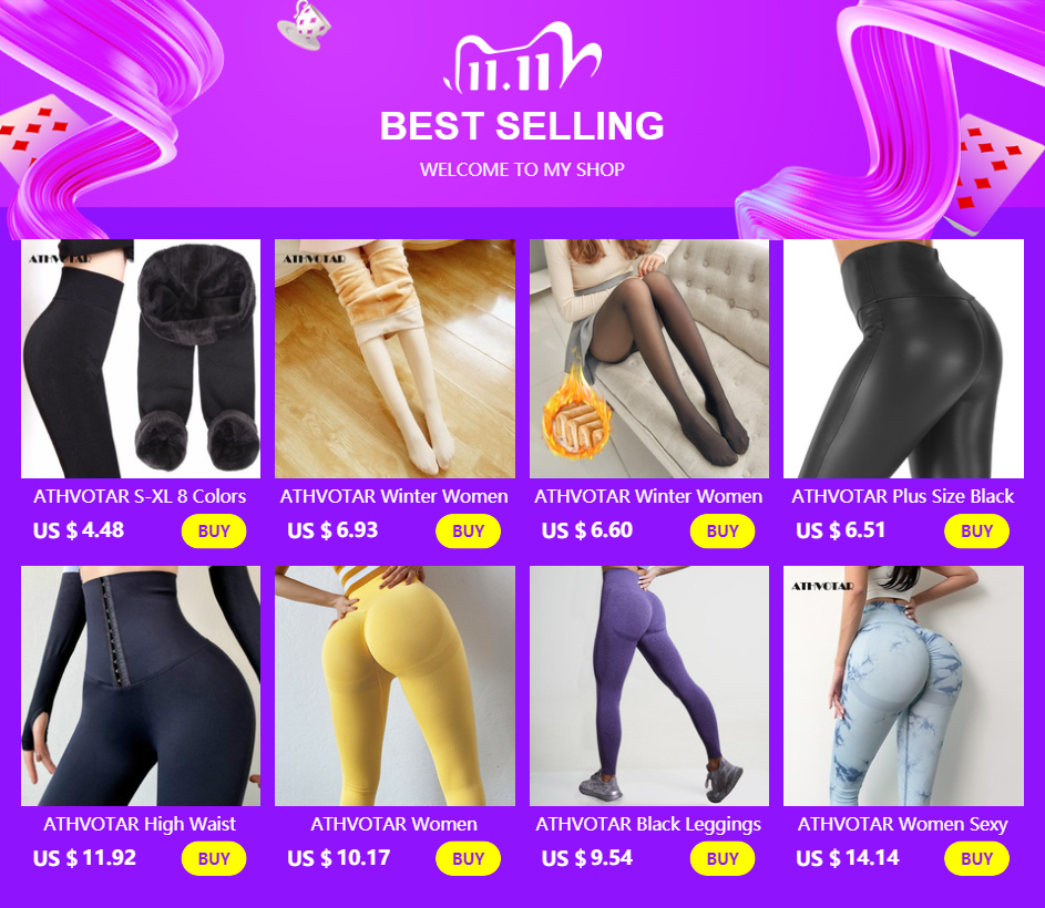 Hdaa7a923c1fe466782930ba9ec4da3e2V ATHVOTAR S-XL 8 Colors Winter Leggings Women's Warm Leggings High Waist Thick Velvet Legging Solid All-match Leggings Women