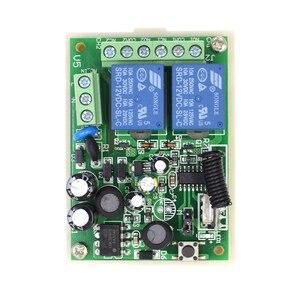 Image 4 - 433Mhz Remote Control Switch for Light Door Garage Gate Remote AC 85V ~ 250V 110V 220V 2CH Relay Receiver and Controller