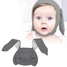 Baby Hat Baby Winter Hat Baby Cap Wool Hat Rabbit Ears Knitted Hat Baby Autumn And Winter Hat Children's Hat
