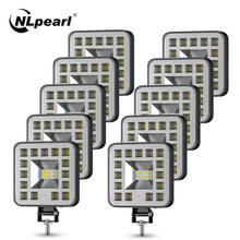 NLpearl minilampka/światło robocze 3 cal LED światło robocze do ciężarówki 4x4 SUV łódź Atv Led do baru Offroad światło przeciwmgielne 12V 24V