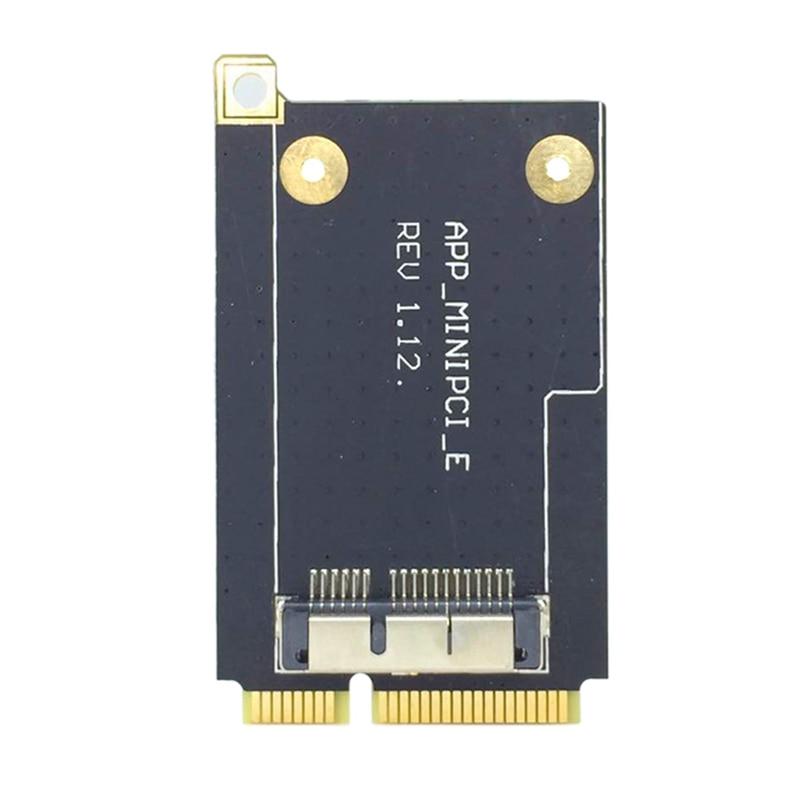 Mini PCI-E Express Adapter Converter 52-Pin Mini PCI-E Card for Broadcom BCM94360CD BCM943602CS BCM94360CS2 BCM94331CD BCM943224(China)