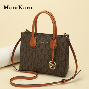 Women Leather Handbag Purse Top Handle Crossbody Bag Leather Tote Shoulder Bag- Large East West Top Zip Tote