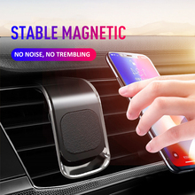 Car Accessories Interior Car Phone Holder For Phone In Car Mobile Support Magnetic Phone Mount Stand For Tablets And Smartphones cheap CAR-partment Black