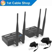 Беспроводной ИК HDMI усилитель сигнала, передатчик, приёмник комплект до 100 м(беспроводной передатчик hdmi и ресивер