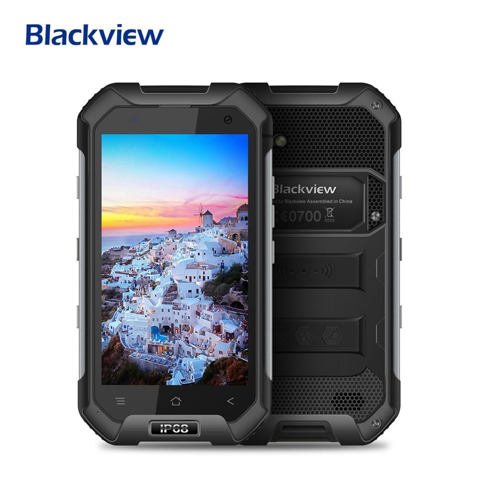 Blackview 90 новый б/у телефона BV6000 IP68 Водонепроницаемый смартфон 3 ГБ + 32 ГБ MT6755 Octa core 13MP Камера 4500 мА/ч, мобильный телефон