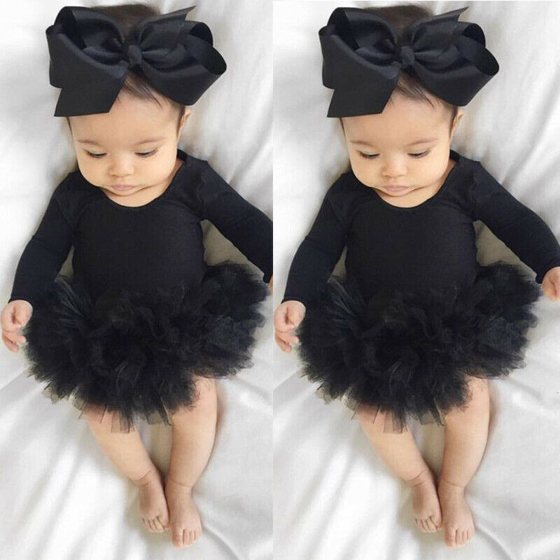 Pudcoco 2020 New Fashion Newborn Infant Baby Girls Long Sleeve Romper Jumpsuit Playsuit Clothes Outfit