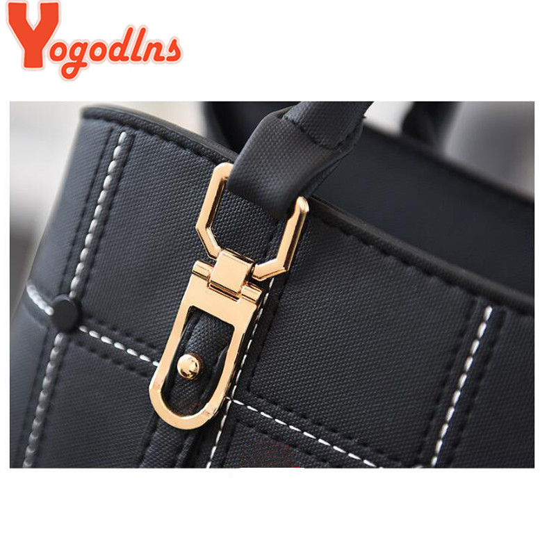 Yogodlns Messenger Bag Women Pu Leather Shoulder Women's Handbag Bags Crossbody For 2019 Fashion
