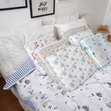 Girl's and Boy's Cotton Cute Printed Quiltedtextiles Cotton Summer Airable Cover Quilted Bedspread 150*200