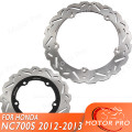 Для HONDA NC 700 S X 2012 2013  комплект ротора переднего и заднего тормозного диска  аксессуары для мотоциклов NC700 700 S 700X NC700S NC700X 12 13