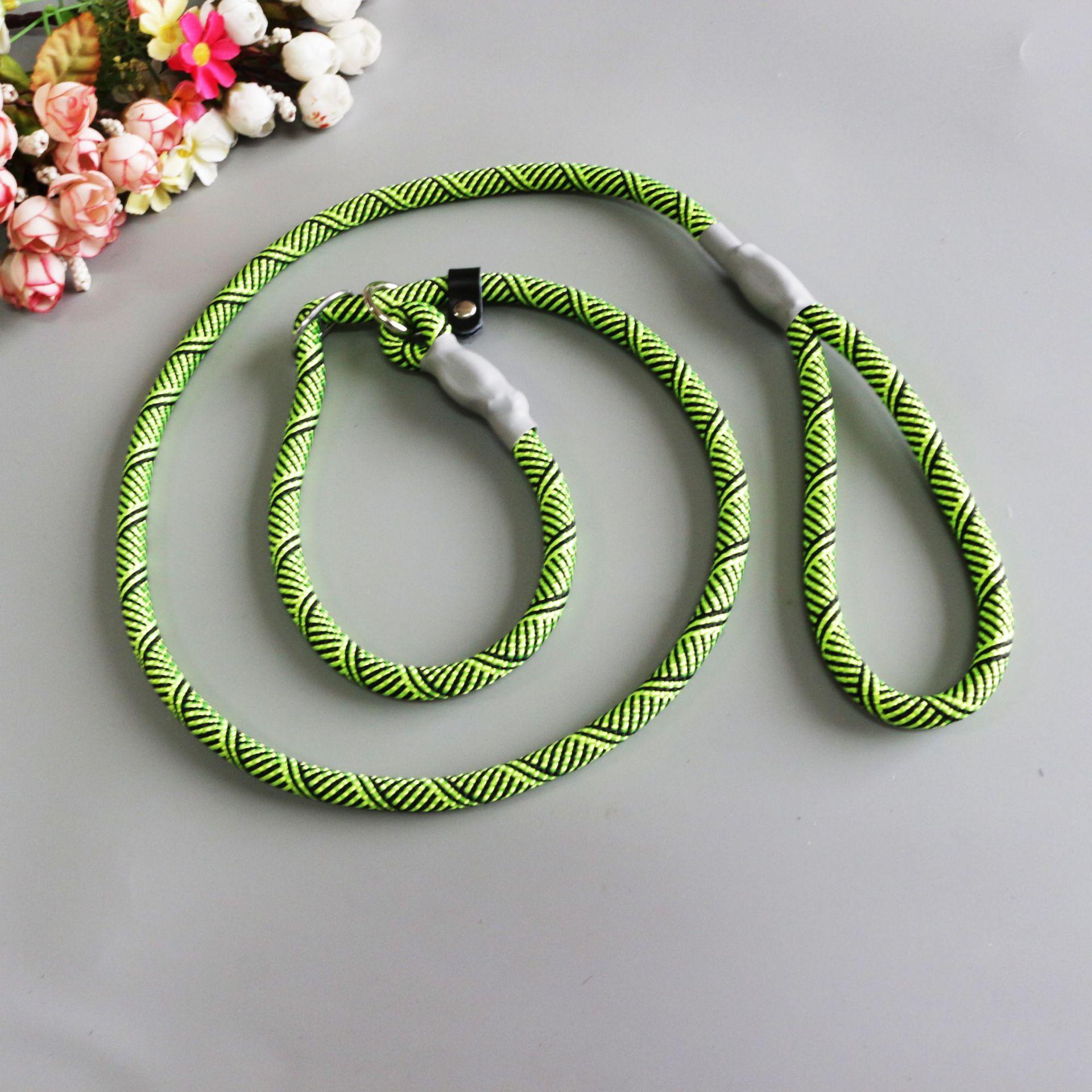Pet Supplies Wholesale Dog Pendant Pet Traction Rope Aluminum Sheath P Pendant Twill Anti Le Hand Holding Rope Manufacturers Dir