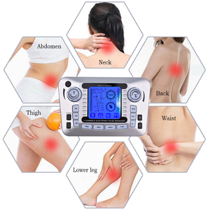 Image 3 - 20 Levels Body Massage Electronic Slimming Pulse Massage Muscle Relax Pain Relief Stimulator Tens Acupuncture Therapy Machine