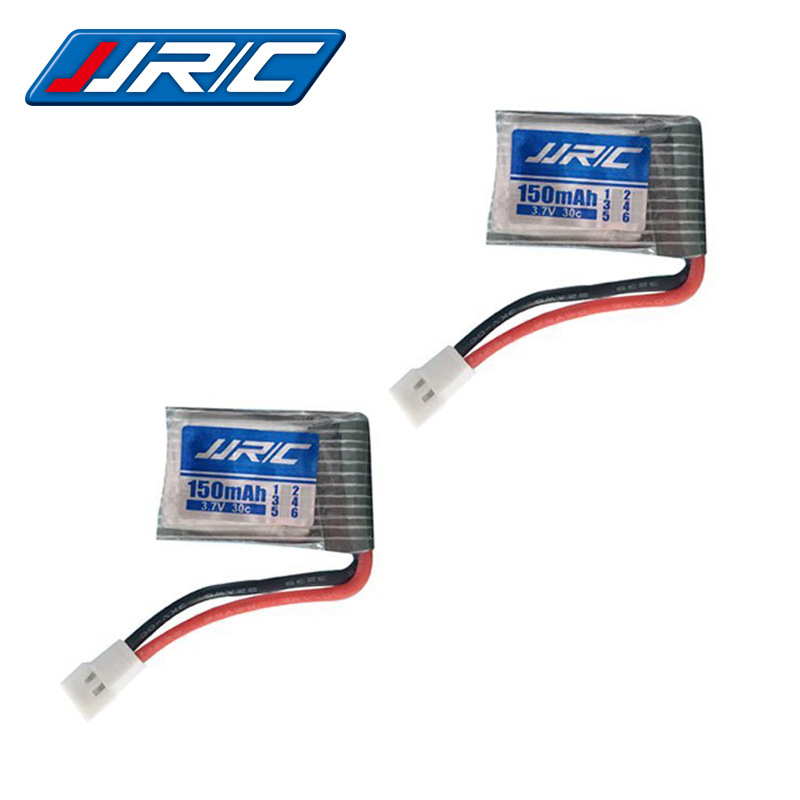 <font><b>3.7V</b></font> <font><b>150Mah</b></font> 30c Rechargeable Battery For JJrc H2 H8 H48 U207 Rc Quadclaptar Spare Parts 3.7 V 150 Mah Lipo Battery H8 Drone Toy image