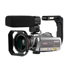 Video Camera 4K Camcorder Filmadora Ordro AZ50 64X Digital Zoom Night Vision Vlo