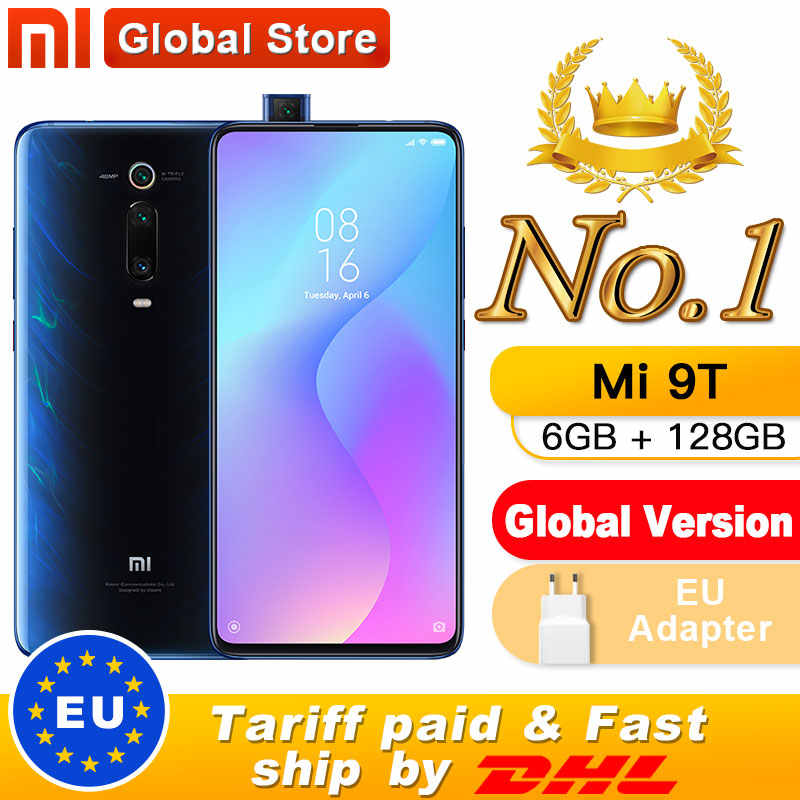 "Global Version Xiaomi Mi 9T (Redmi K20) 6GB 128GB Smartphone Snapdragon 730 Pop-up Front Camera NFC 6.39"" 48MP"
