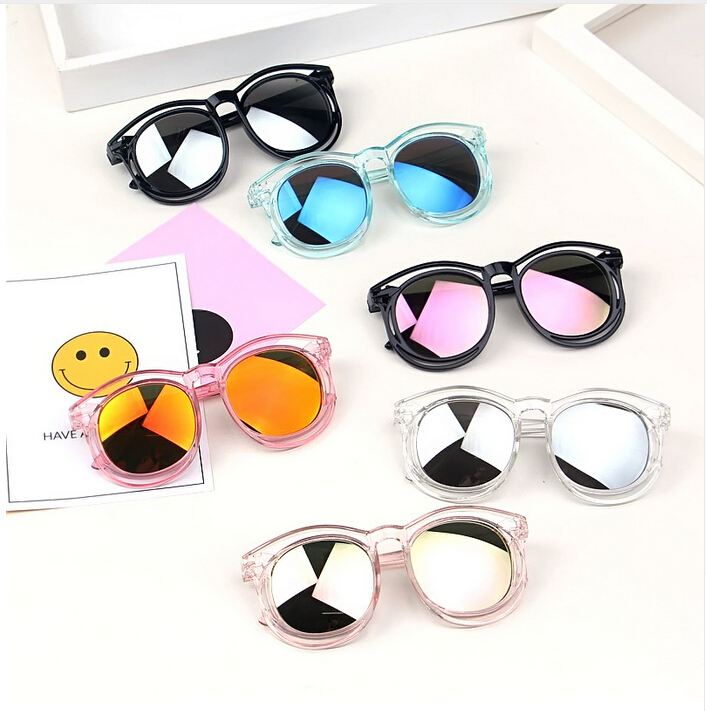 Toddler Beach Sunglass Kids Baby Girls Boys Summer Sunglasses Solid Frame Goggles Kid Eyeglasses