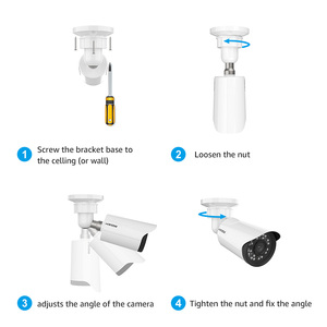Image 4 - H.VIEW 8CH 1080P Video Surveillance Kit Camera Video Surveillance Outdoor CCTV Camera Security System Kit CCTV System for Home
