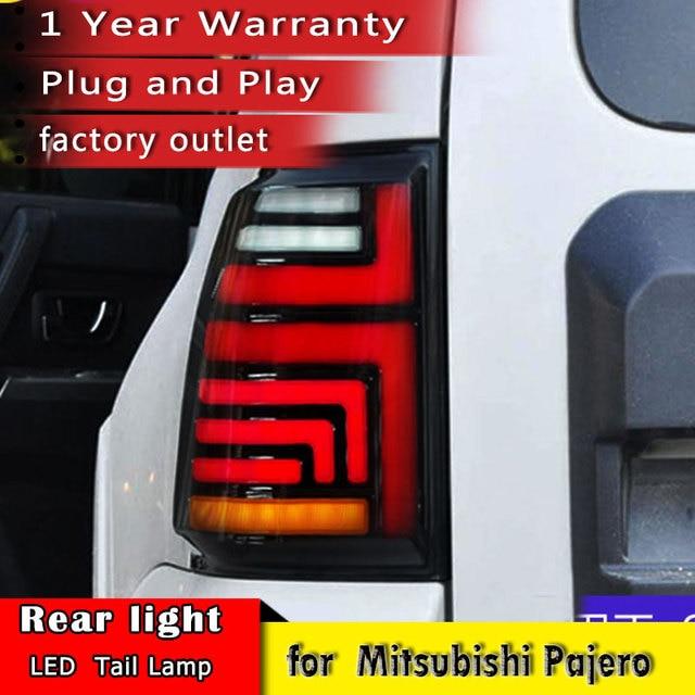 New Car Styling For Mitsubishi Pajero V93 V97 2007 2019 Tail Brake Light Rear Turn Signal Lamp car accessories