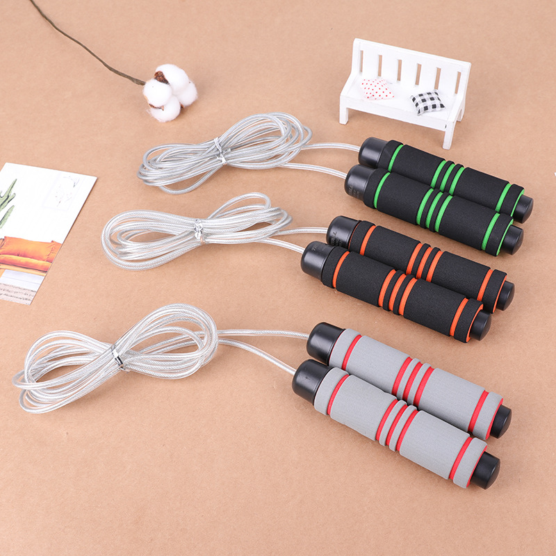 Customizable Regulation Environmentally Friendly Steel Wire Jump Rope Sports Fitness PVC Cord Adult Students Children Jump Rope