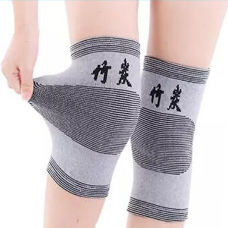 2pcs Brand Knee Pads High Elasticity Keep Warm Knee Protector Prevention Relieve Arthritis Knee Support Sports Knee Guard Gray