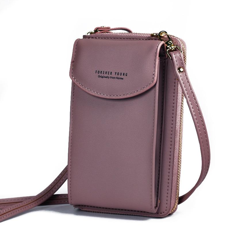 PU Luxury Handbags Women's Bags for Woman 2020 Ladies Hand Bags Women's Crossbody Bags Purse Clutch Phone Wallet Shoulder Bag 5