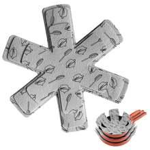 12 шт/комплект voor stapelen сковорода протектор делитель pad