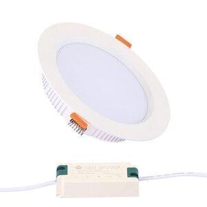 Image 1 - Đèn LED Âm Trần Downlight 3W 5W 7W 9W 12W 15W 18W 24W 30W AC 220V Không Thấm Nước Đèn Ốp Trần Trắng Ấm Lạnh Trắng Đèn Led Chiếu Điểm