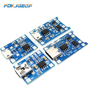 Module-Charging-Board Protection Lithium-Battery-Charger TP4056 Type-C/micro-Usb Li-Ion