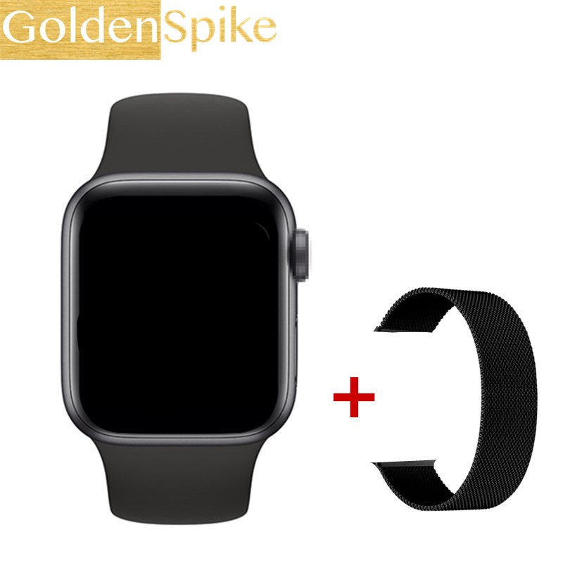 2020 Plus MAX Series 5 IWO13 Smart Watch 44MM For Apple IOS Android Phone Heart Rate Bluetooth Call Music Player PK IWO 12 11 10