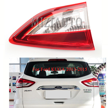 MIZIAUTO Rear tail light Inner side For Ford KUGA 2013-2015 Brake Light Bumper Tail Stop Lamp Warning Fog