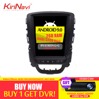 KiriNavi 10.4'' 1 Din Android 9.0 Car Radio GPS Navigation For Opel ASTRA J Buick Android Car Multimedia Dvd Player 2009 2015 4G