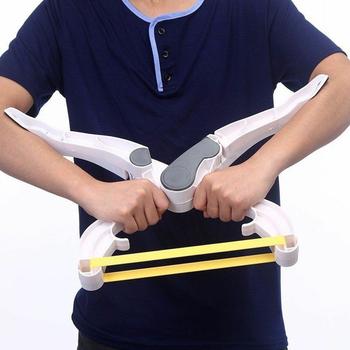 Plastikowa ręka mięśni trening siłowy Grip przedramię nadgarstek ćwiczenia ramię trening siłowy Shping sprzęt do ćwiczeń tanie i dobre opinie CN (pochodzenie) Grip Strength Devic Urządzenie do rozluźnienia mięśni Hand Muscle Strength Training Grip