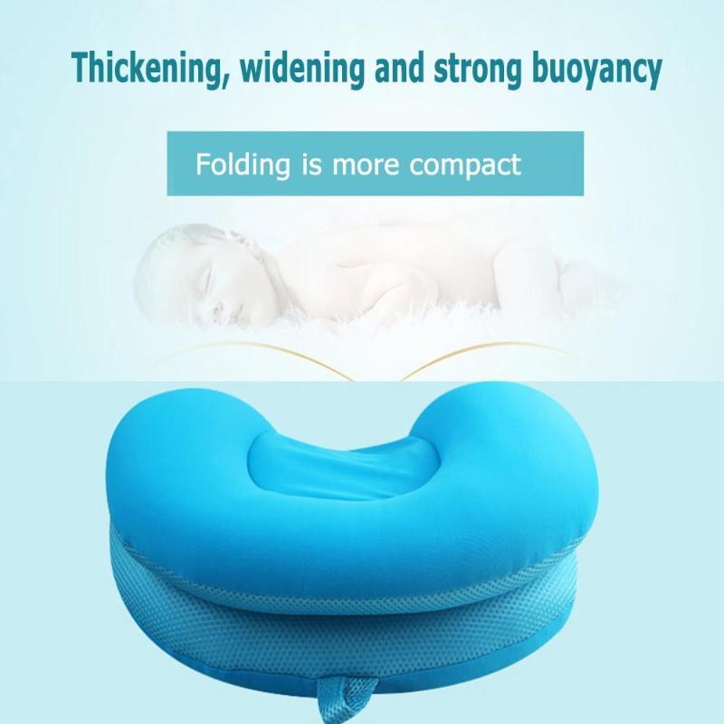 Плавающий коврик для ванной для новорожденных, детская ванночка, коврик для душа, переносная воздушная подушка для новорожденных, безопасное сиденье для купания