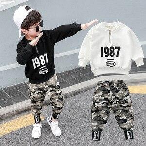 Image 1 - 3 4 5 6 7 8 9 10 11 12 ปีชายเสื้อผ้าเสื้อกางเกงเสื้อผ้าเด็กชุดเด็กฝ้ายชุดลำลองเด็กชุดสำหรับ Boy