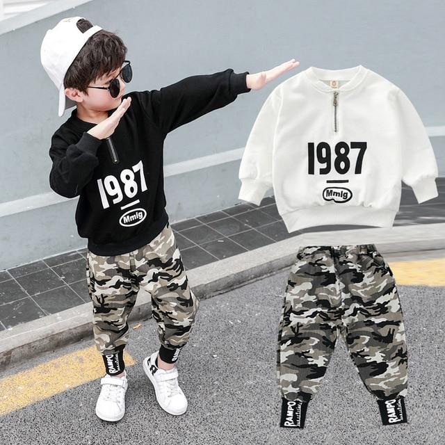 3 4 5 6 7 8 9 10 11 12 ปีชายเสื้อผ้าเสื้อกางเกงเสื้อผ้าเด็กชุดเด็กฝ้ายชุดลำลองเด็กชุดสำหรับ Boy