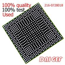 Chipset de 1 pces 216-0728018 216 0728018 bga com bola testado boa qualidade