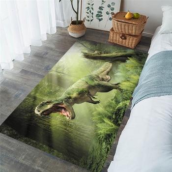 Kids dinosaur Shaggy Anti-Skid Floor play Mat 3D Carpet Non-slip rug Dining Living Room Soft Child Bedroom Mat Carpet Home 007