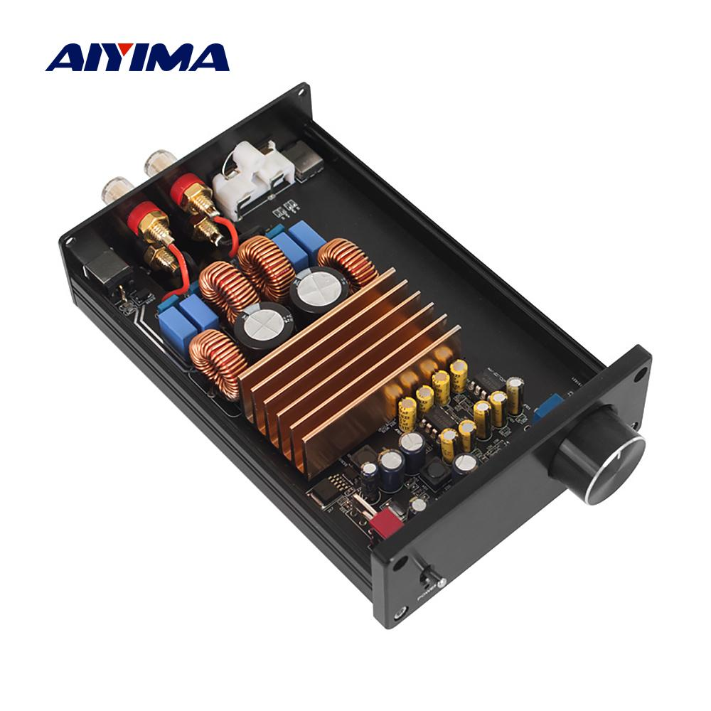 AIYIMA TPA3255 2.0 Digital Power Amplifier 300Wx2 Class D Stereo HiFi Speaker Amplifier Mini Audio Amp Home Theater DC 24-48V