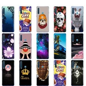 Image 2 - עבור סמסונג גלקסי A9 2018 מקרה סמסונג A9 2018 כיסוי סיליקון TPU טלפון Case עבור Samsung A9 2018 A920F A920 SM A920F כיסוי קאפה