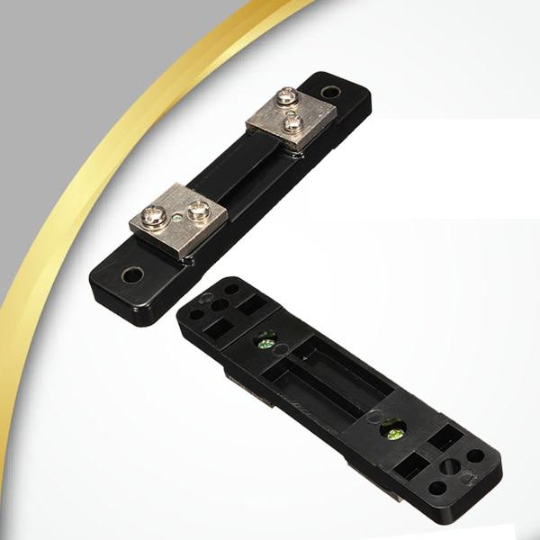 1PCS FL-2 50A 75MV DC Current Shunt Resistor Panel For Digital Amp Meter Ammeter Class 0 Current Shunt Resistor