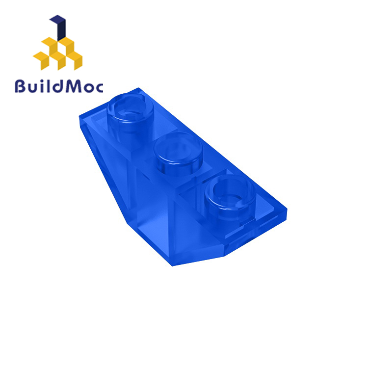 BuildMOC 18759 Slope Inverted 45 3 X 1 Double For Building Blocks Parts DIY Educational Creative Gift Toys