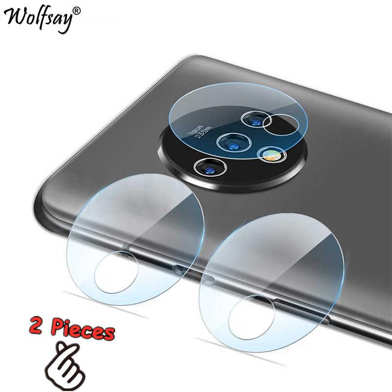 2 قطعة نانو كاميرا زجاج ل OnePlus 7T كاميرا غشاء واقي ل OnePlus 7T غطاء كامل عدسة كاميرا الزجاج المقسى ل OnePlus 7T