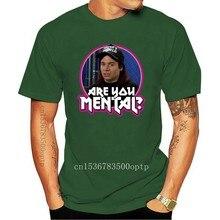 T-shirt personnalisé 90 Mike Myers, article classique, Wayne World Are You Mental, toute taille